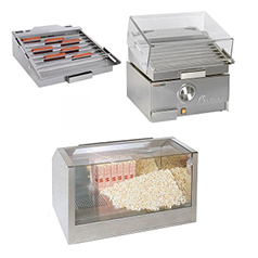 martek food systems - cretors -hot-dog-grill